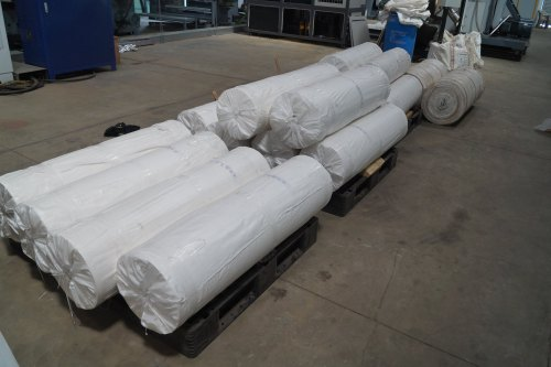 VCI COATED PAPER LAMINATED TO HDPE FABRIC