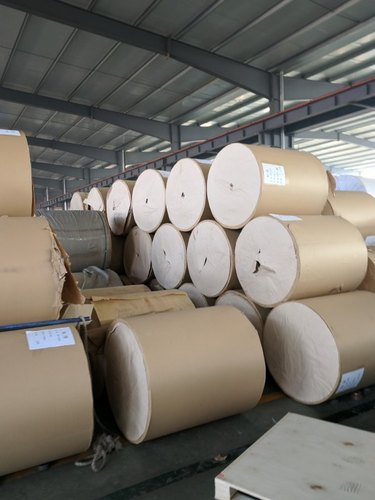 Kraft Paper PP Woven Fabric Roll