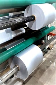 White PE Coated Paper Roll