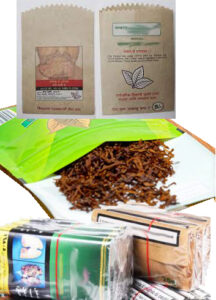 Tobacco Packaging Pouch material- Brown / White Paper